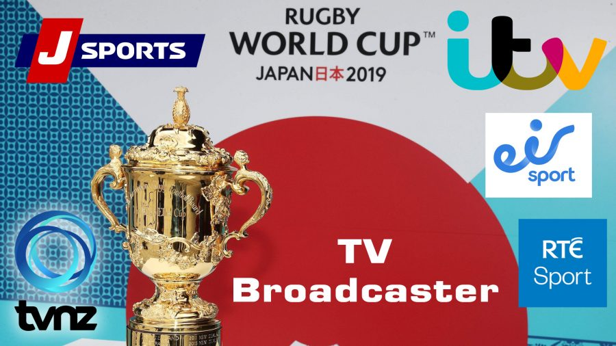 Rugby World cup RWC 2019 Broadcaster, TV channels List