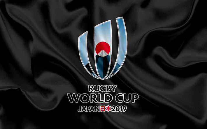 Rugby world cup 2019 japan HD wallpaper with logo